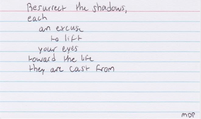 37 resurrect the shadows
